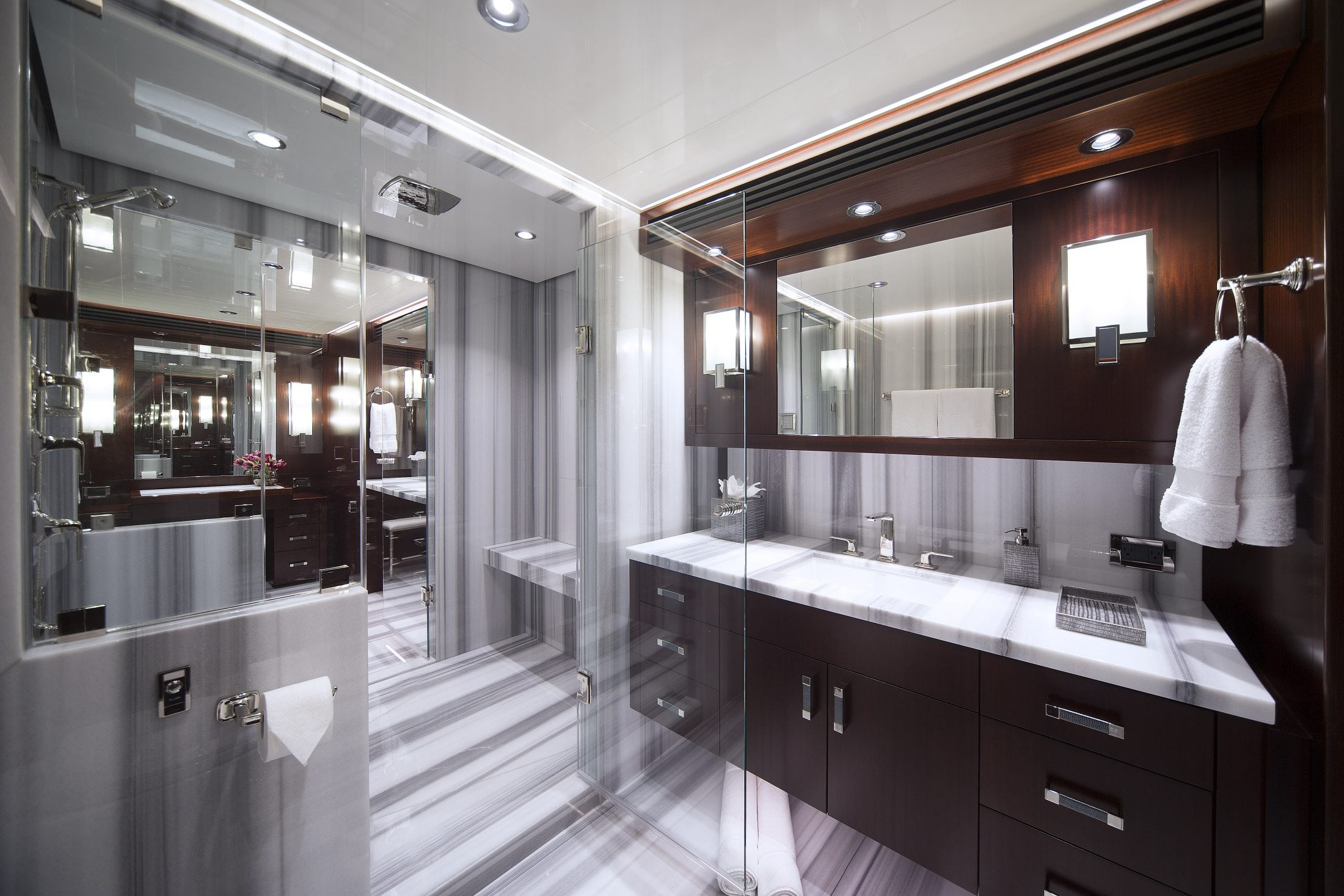 125' (38M) Westport Eccentric Master Bathroom