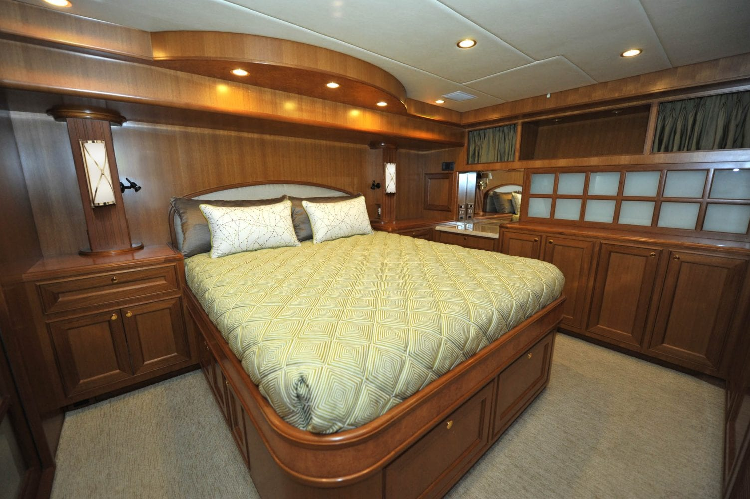 66' Offshore Southern Comfort Master Stateroom