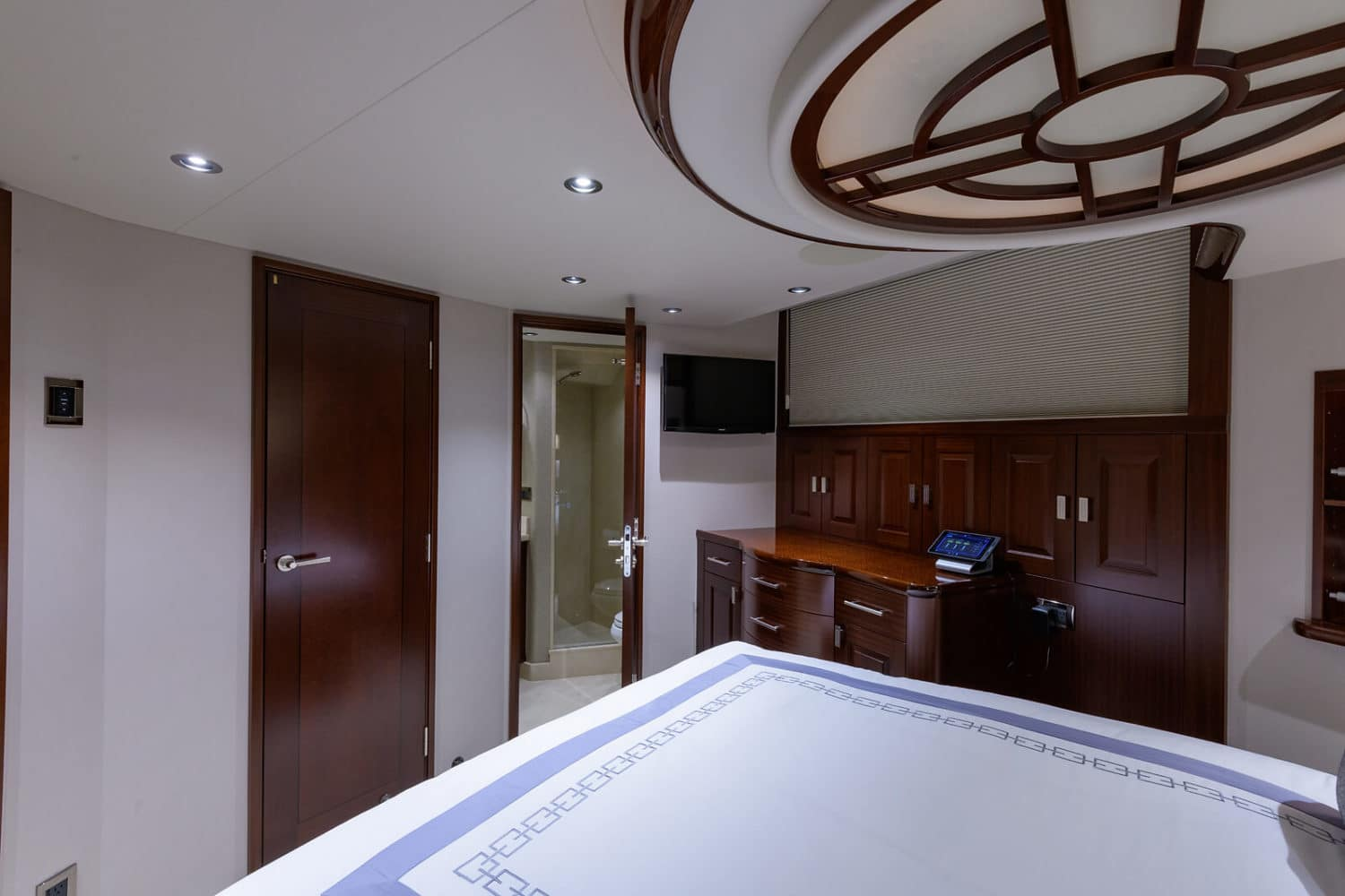 112' Westport Bluewater Cat VIP Stateroom