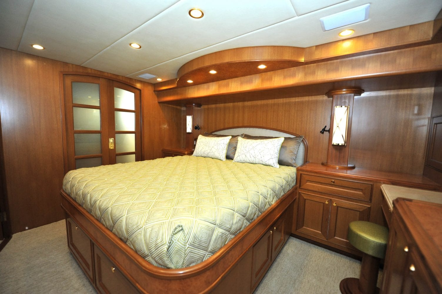 66' Offshore Southern Comfort Master Stateroom 2