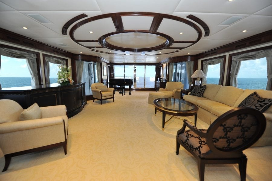 Trinity Yachts Main Salon