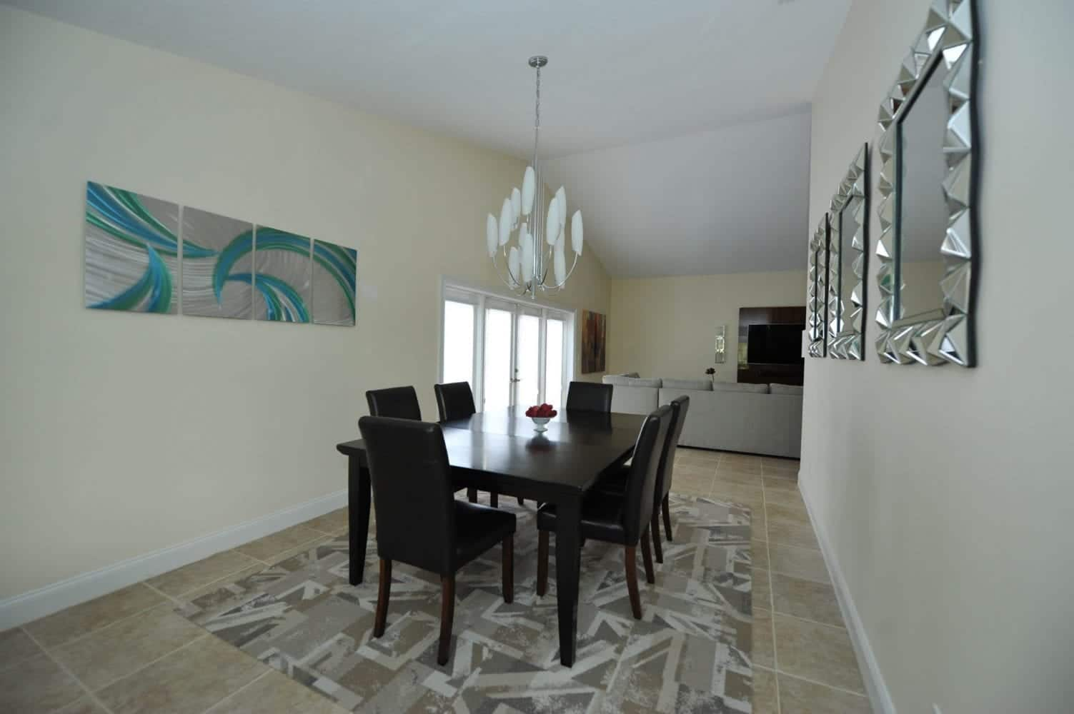Lake Worth Residence Dining Room 2