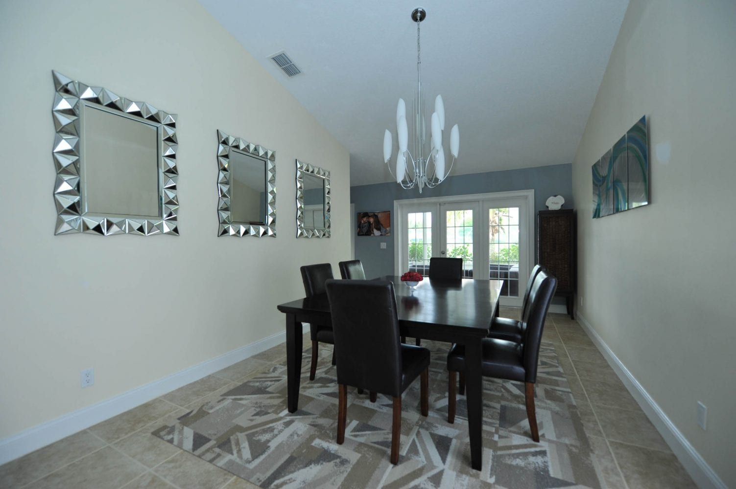 Lake Worth Residence Dining Room