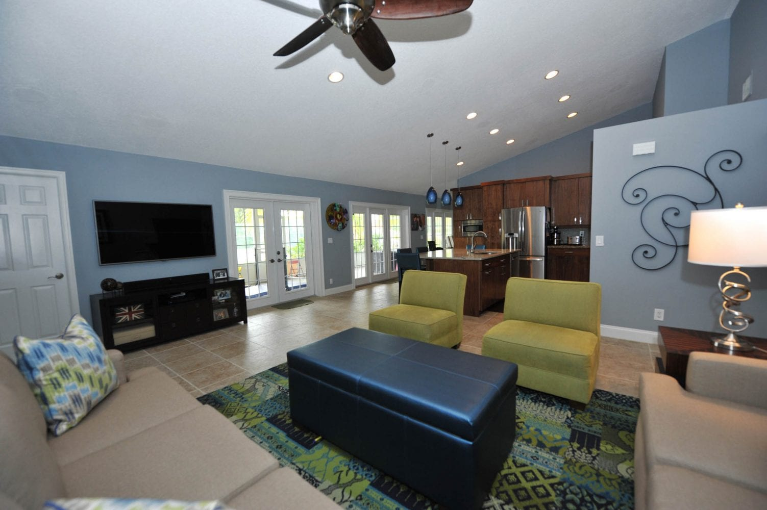 Lake Worth Residence Family Room 2