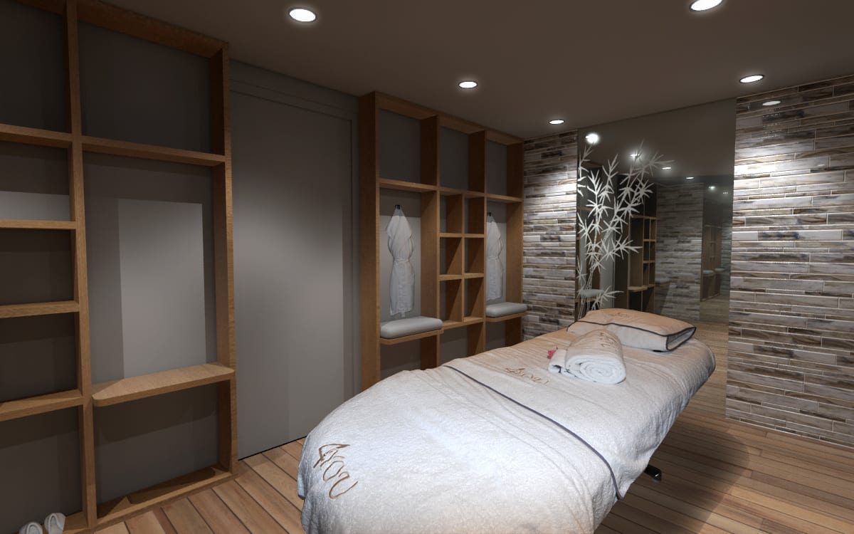 180' Amels 4 You Renderings Spa Room 2