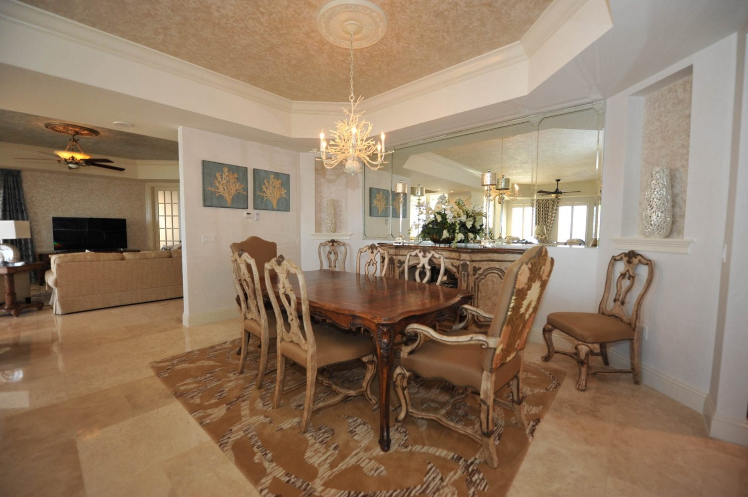 Gulf Harbour Residence Dining Room