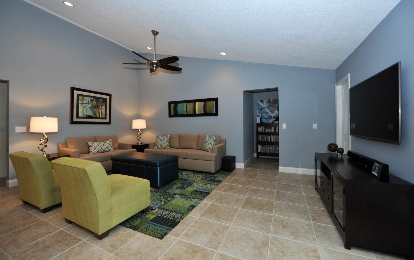 Lake Worth Residence Family Room 3
