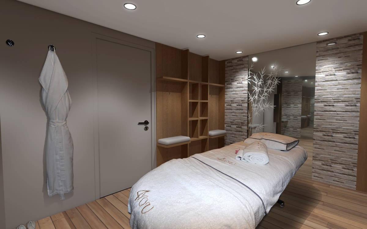 180' Amels 4 You Renderings Spa Room 3