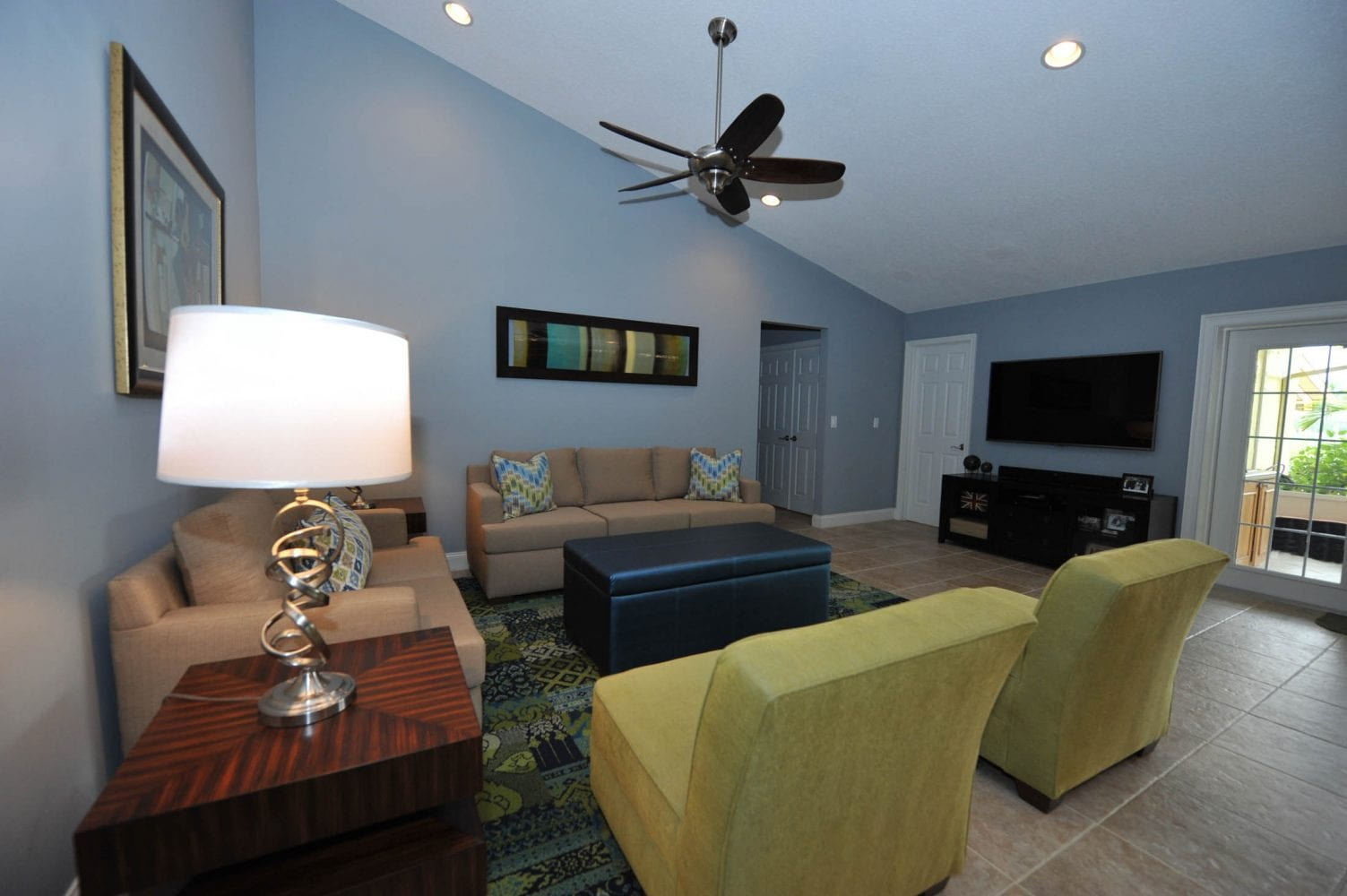 Lake Worth Residence Family Room 4