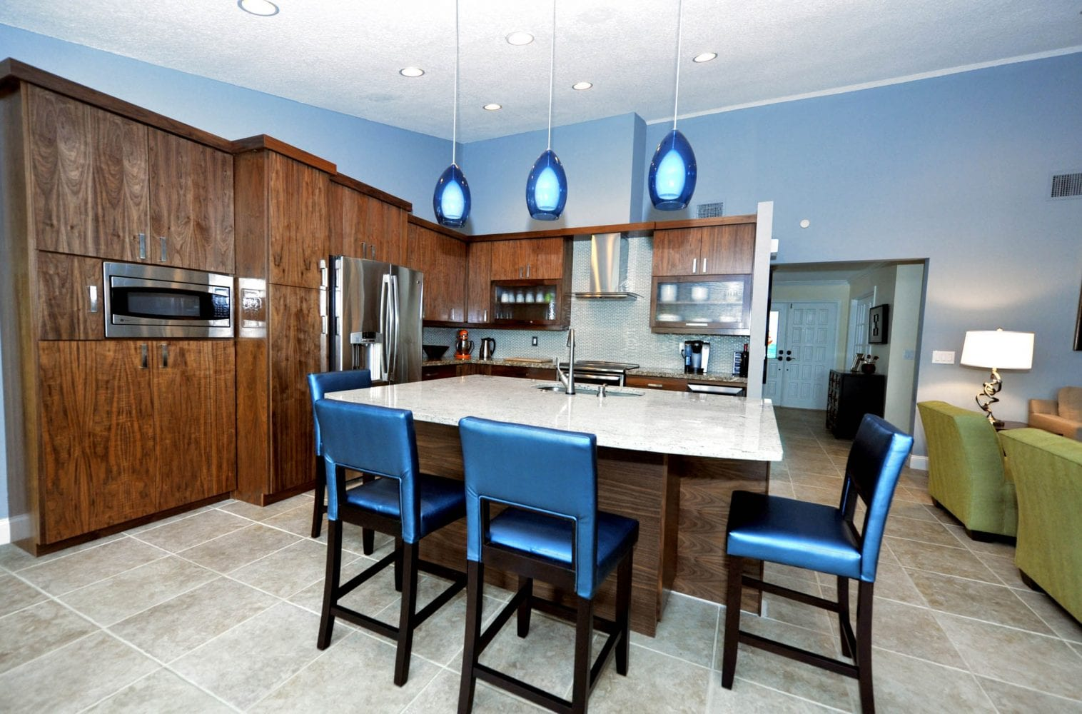Lake Worth Residence Kitchen