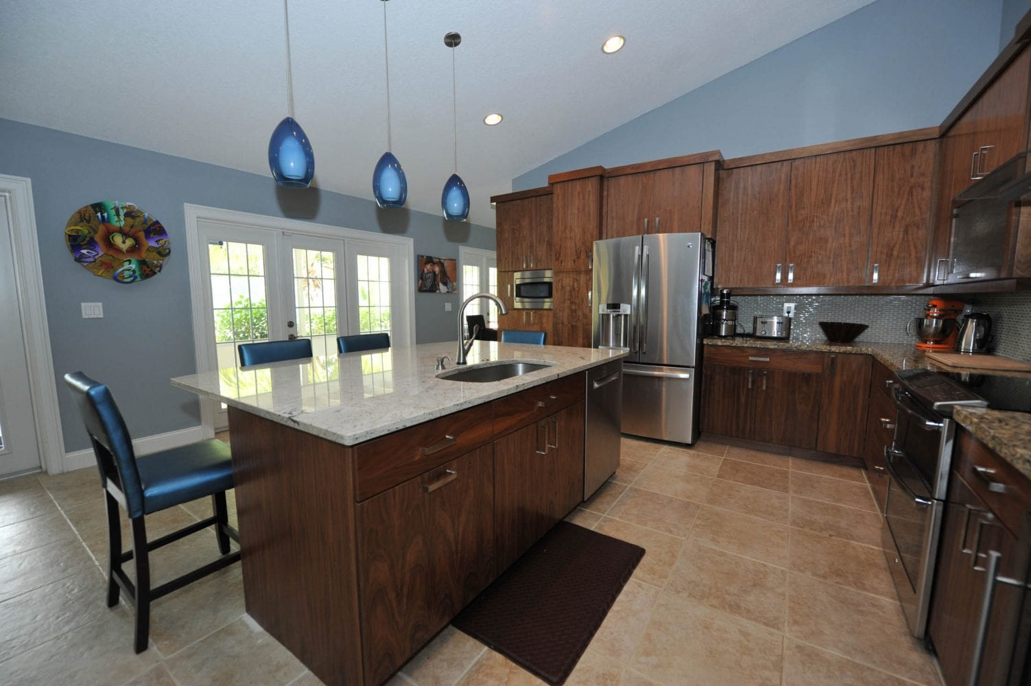 Lake Worth Residence Kitchen 2