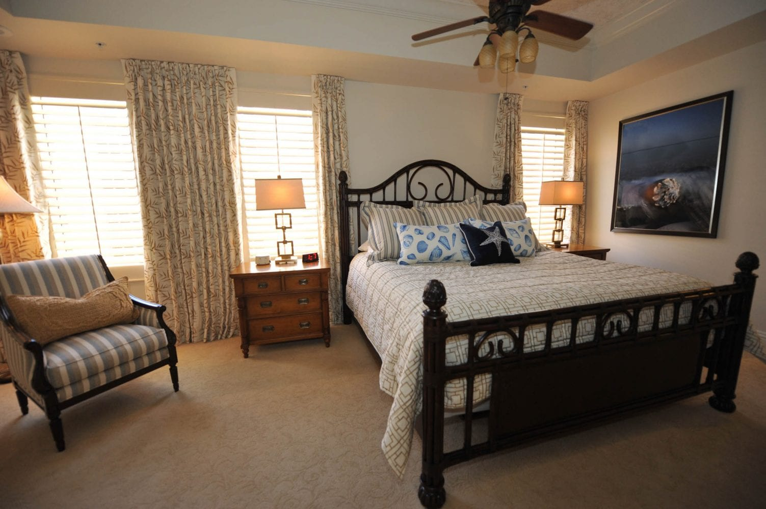 Gulf Harbour Residence Master Bedroom