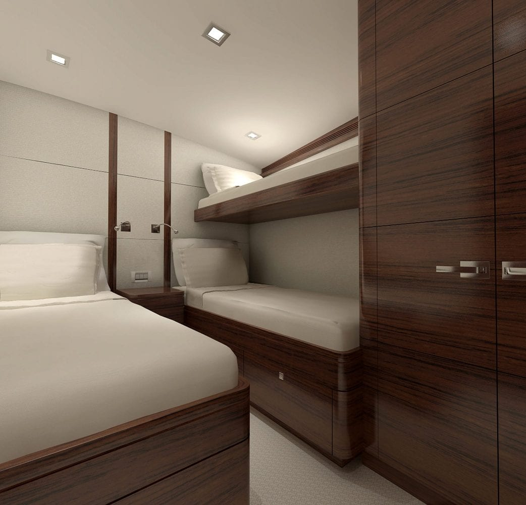 94.5 Seaforce IX Bonny Read Guest Stateroom Rendering 2