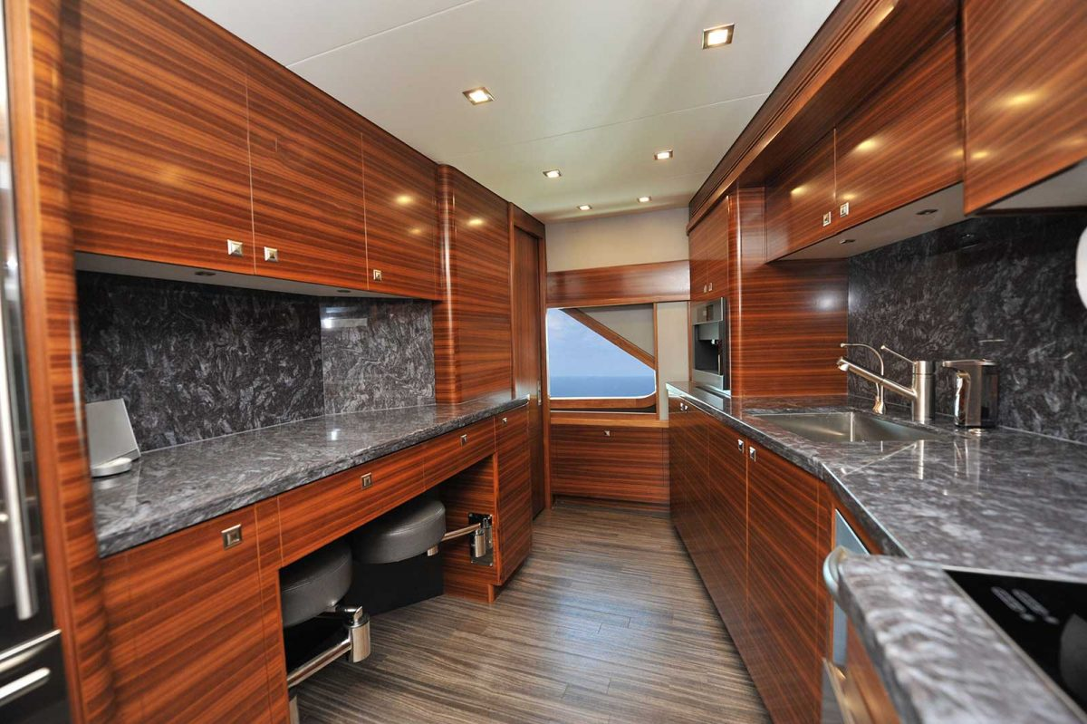 Sportfish Yacht Galley