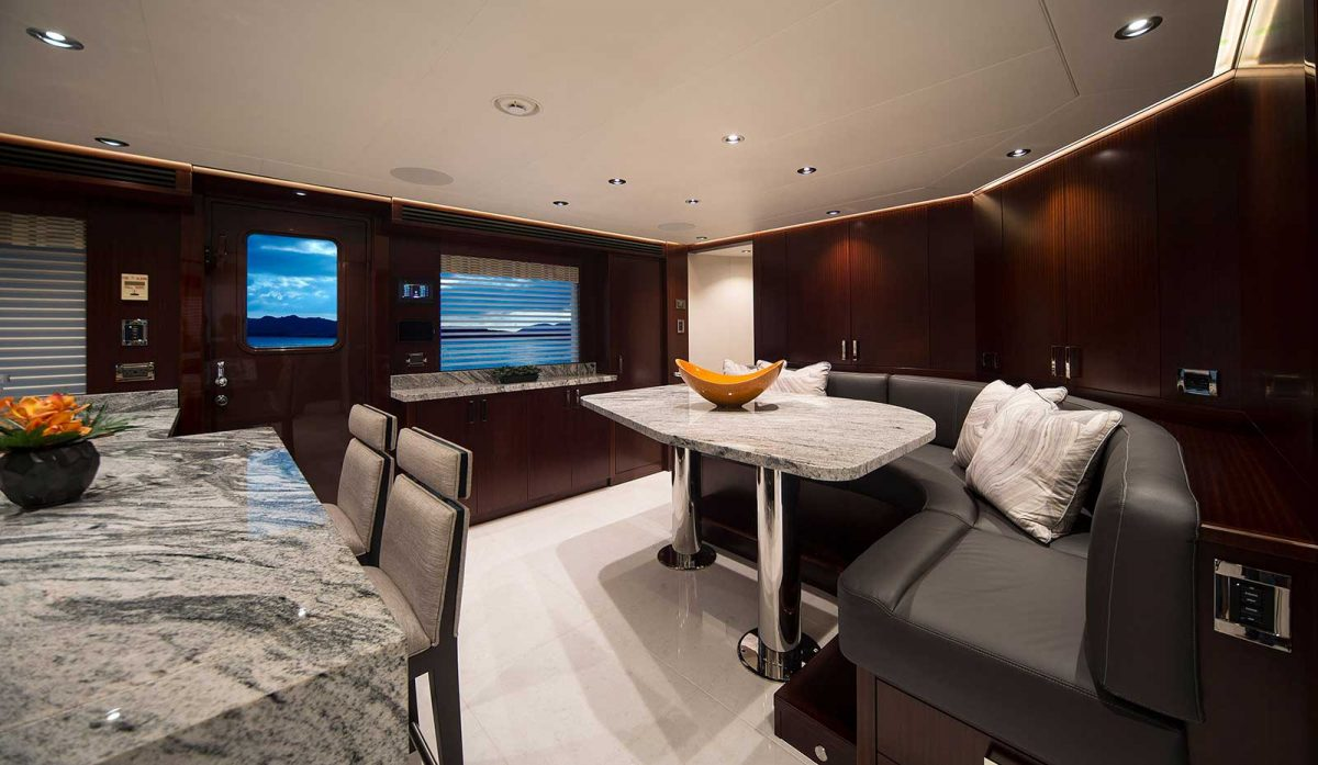 Westport yacht Galley