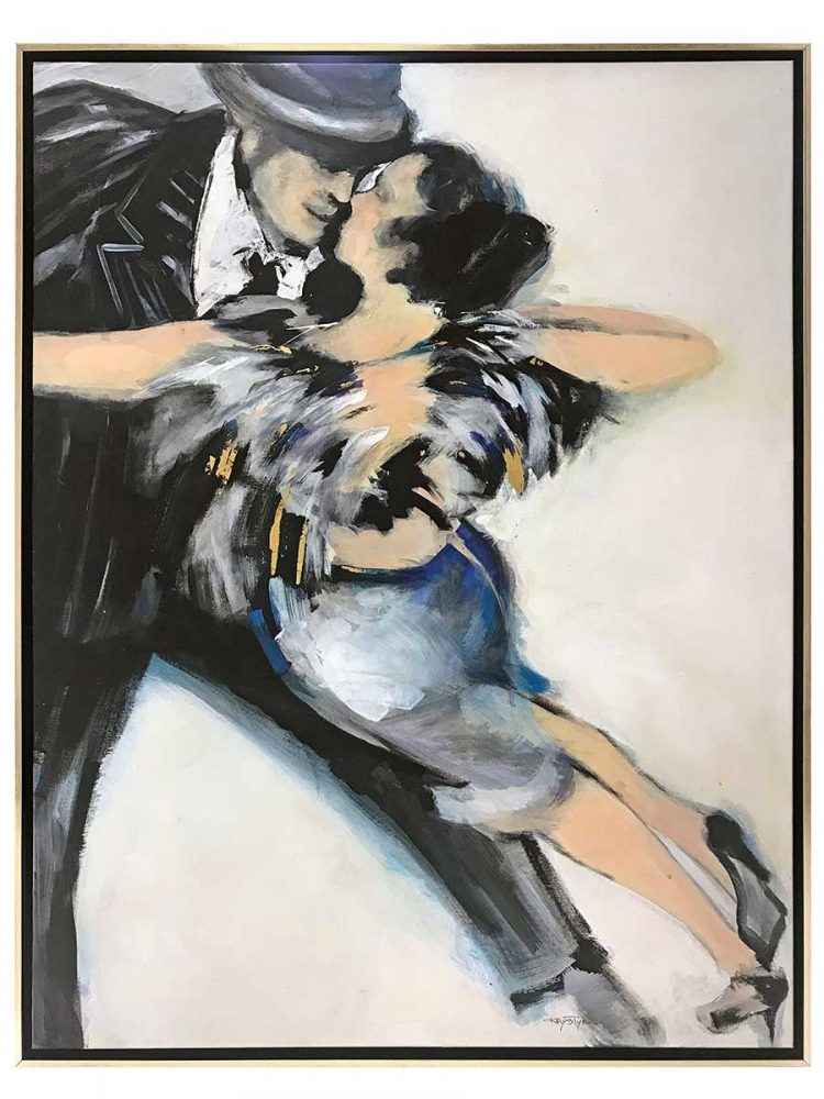Westport Yacht Dancing Couple Art