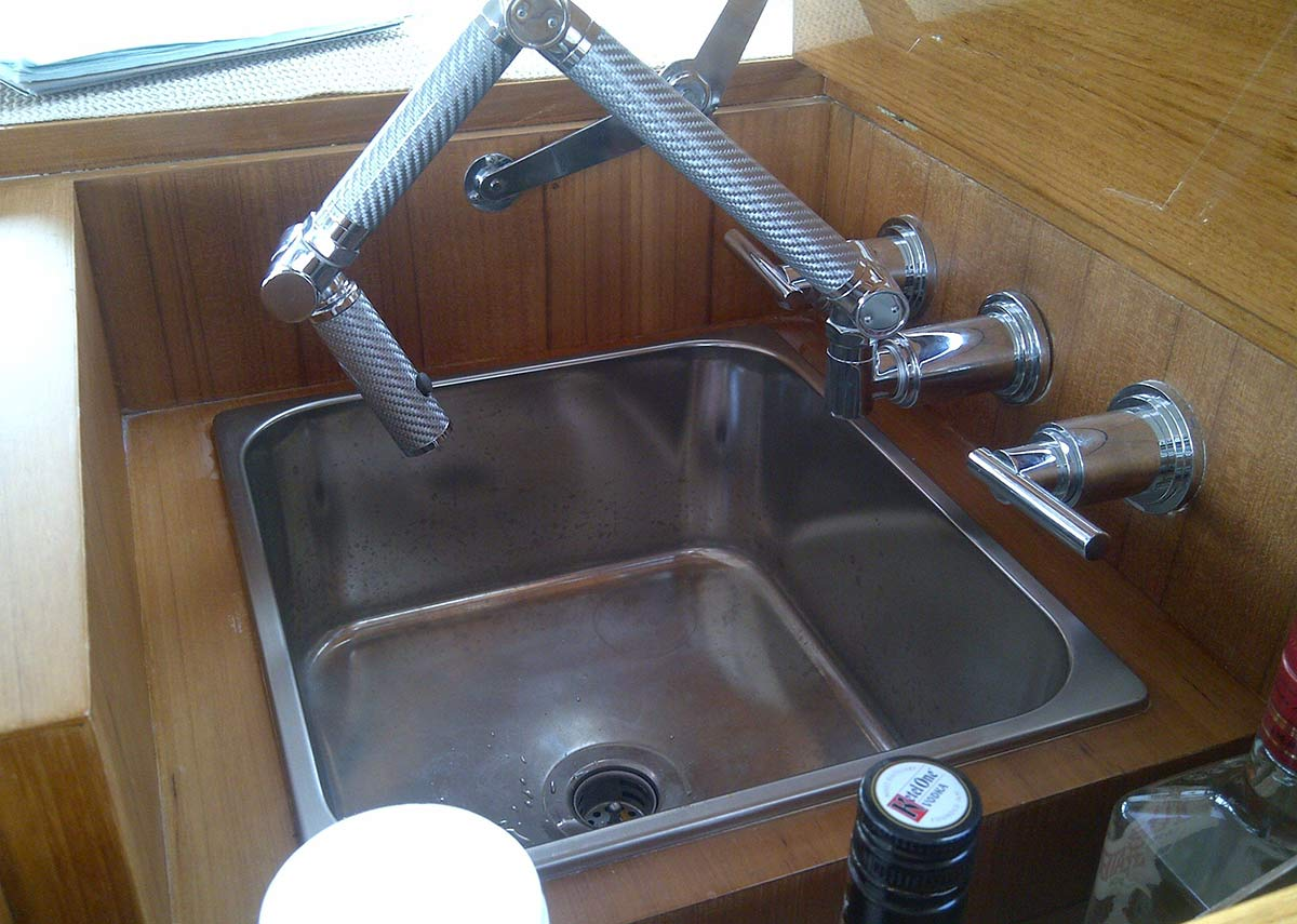 Benefits of hiring a yacht interior designer. Folding Faucet for Yacht