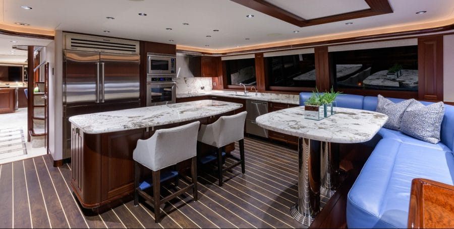 "112"" Westport Yacht Bluewater Cat"