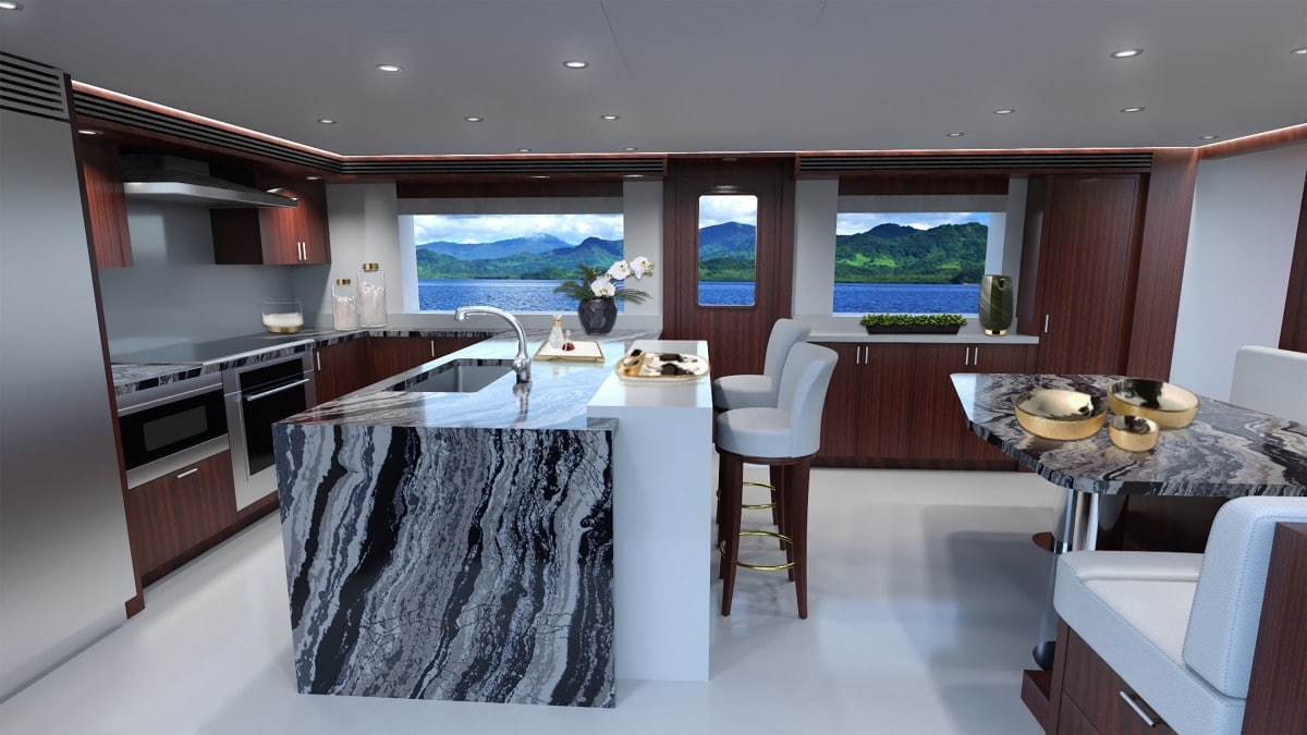 Hull 3805 Galley