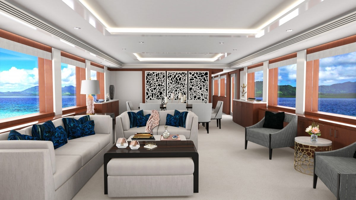 Hull 3805 Main Salon