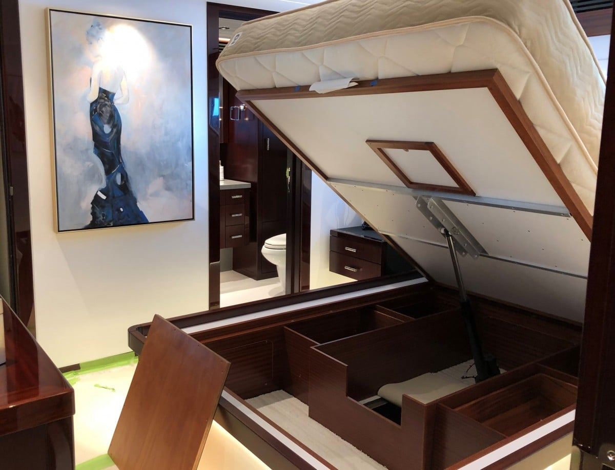 Guest Stateroom on your Yacht Charter