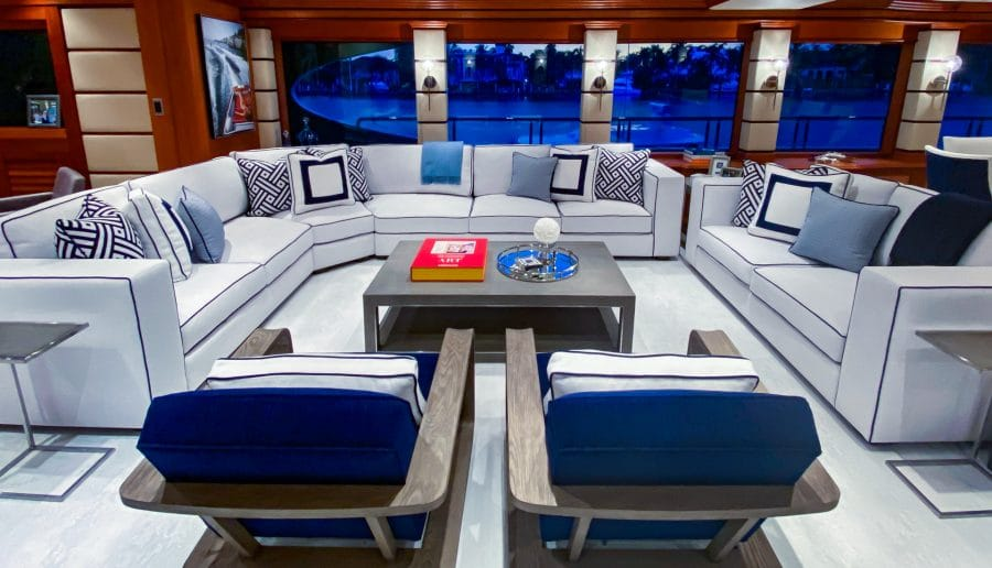 Nautical Yacht Interior