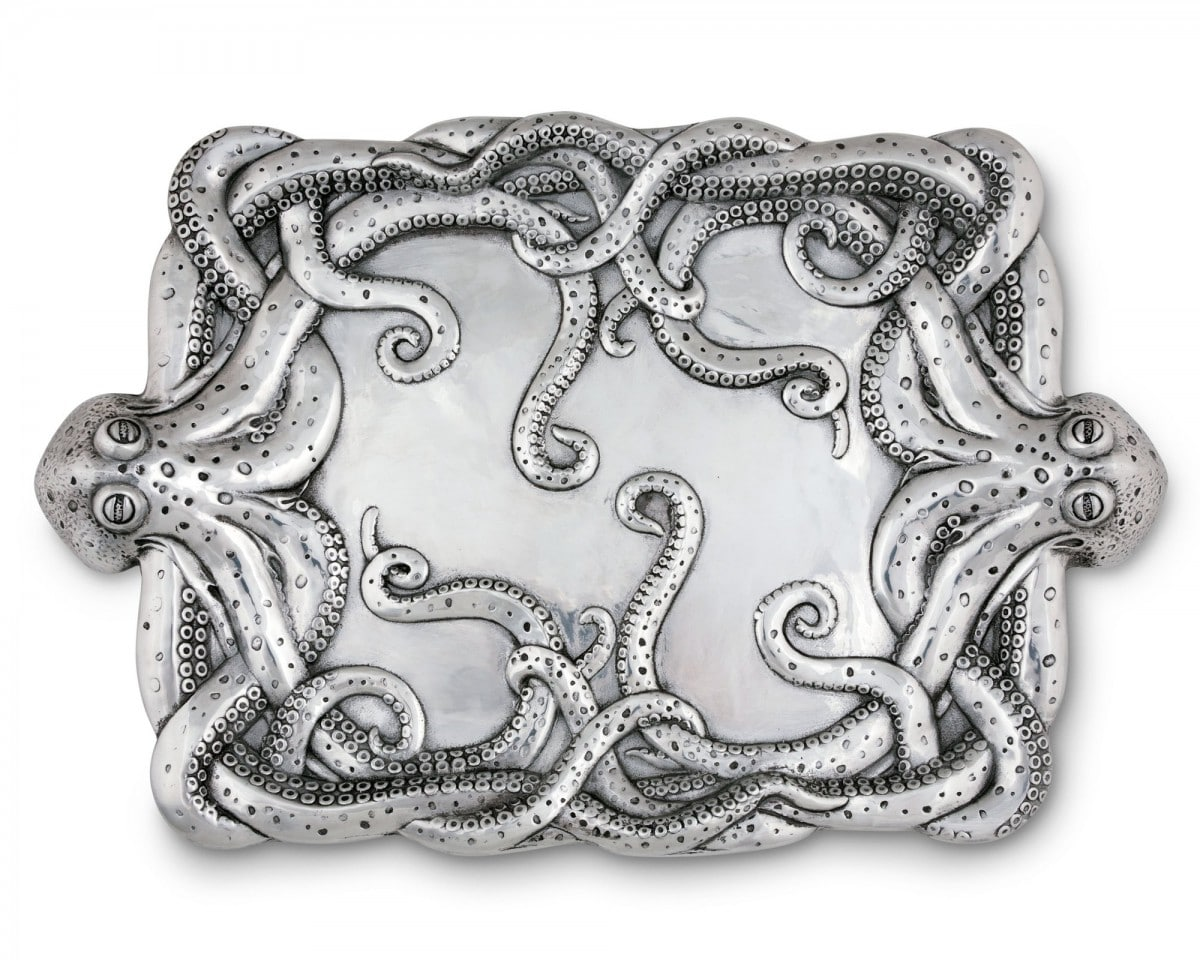 Octopus centerpiece tray