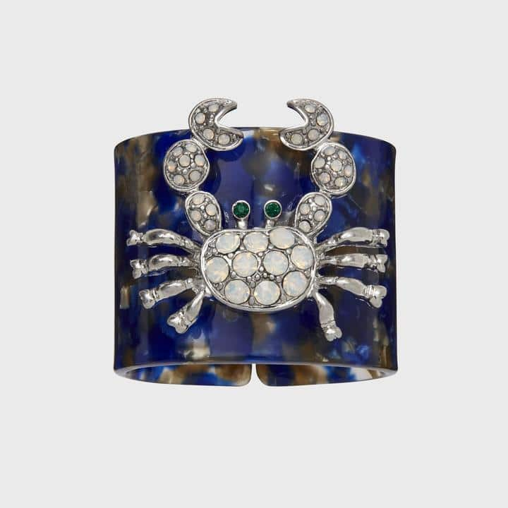 Joanna Buchanan Blue Crab Napkin Rings