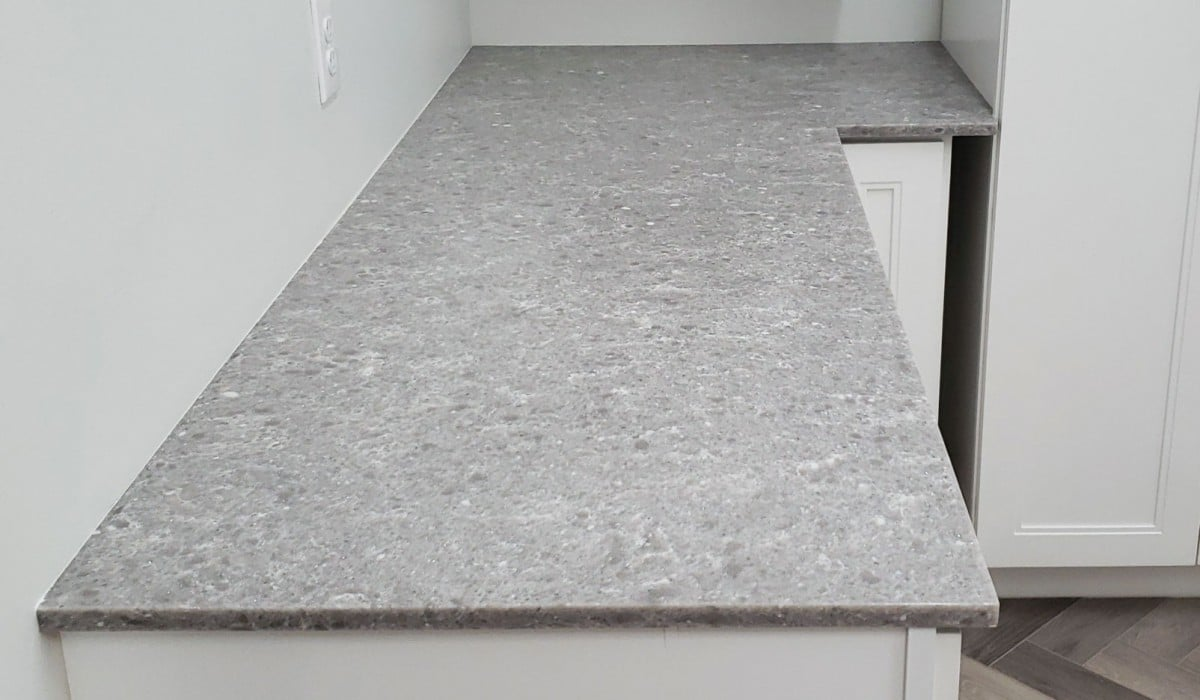 surface of stone counter top