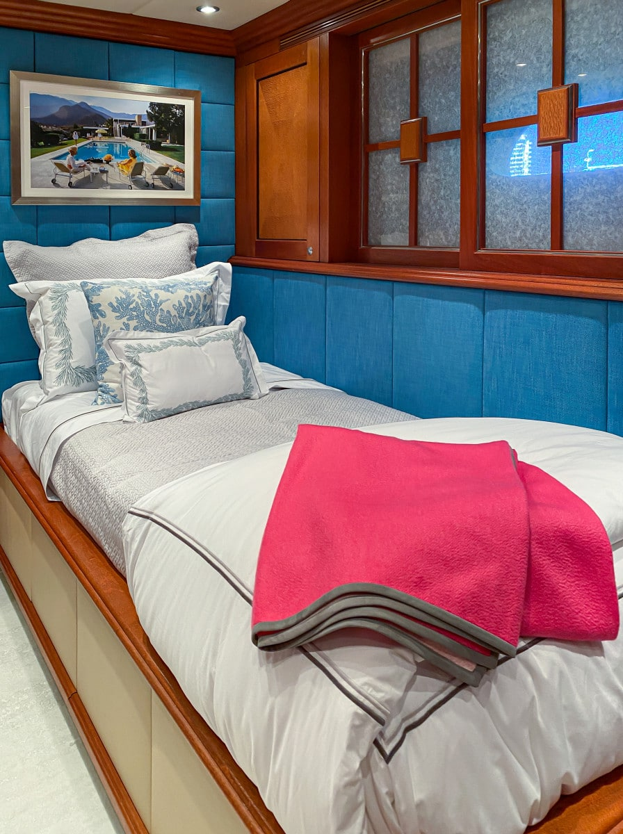 161′ Trinity Yacht Stay Salty Guest Staterooms